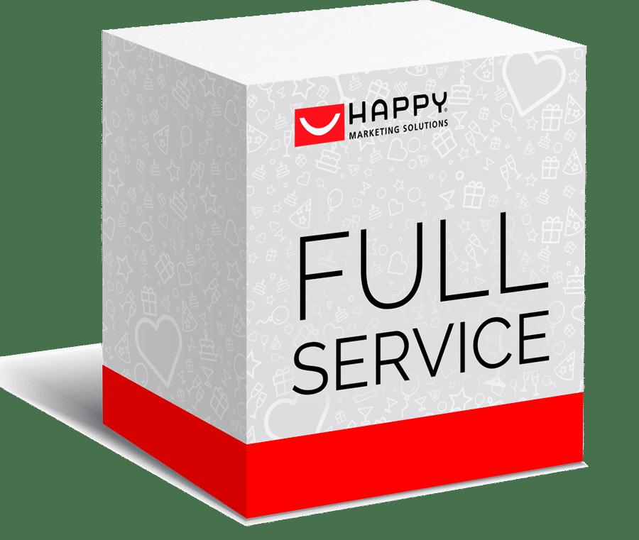 Full Service Gewinnspiele | HAPPY