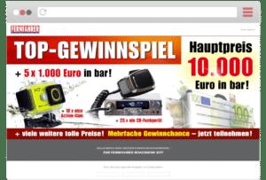 Landingpage ETM Verlags-Gewinnspiele