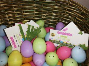 Osterglücksaktion Eier mit Gewinncodes