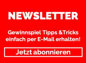 Gewinnspiel Tipps & Tricks einfach per E-Mail erhalten