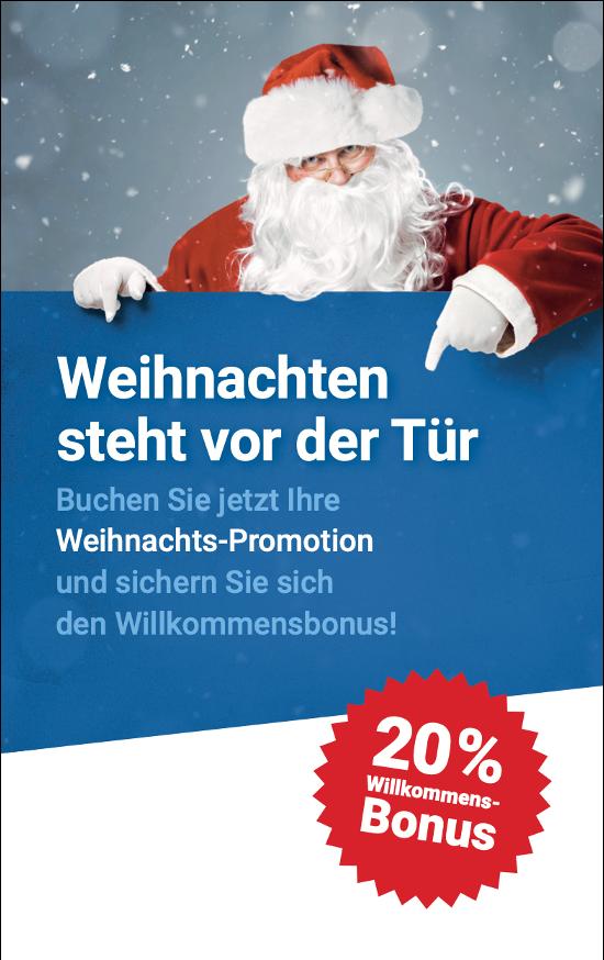 HAPPY Weihnachts-Promotion-Gewinnspiel