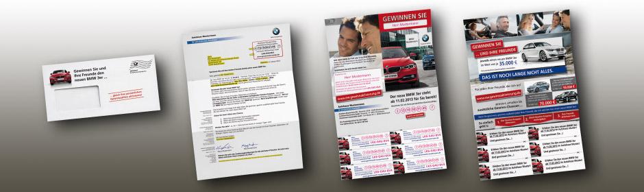 BMW Gewinnspiel-Mailing