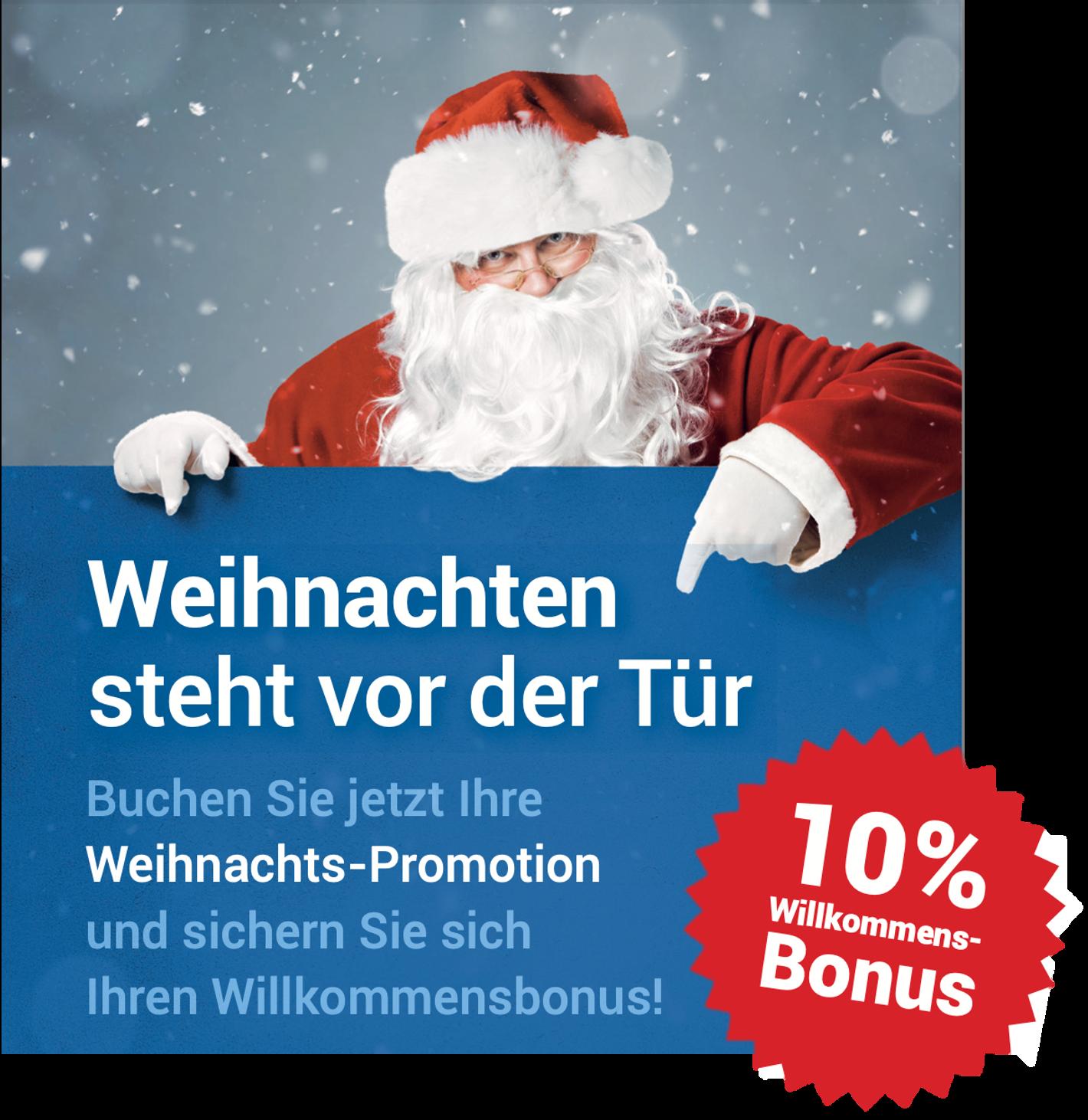 HAPPY-Gewinnspiele für Ihr Weihnachtsgeschäft 2021